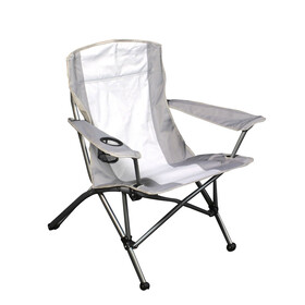Relags Travelchair Lodge ST - Siège camping - gris/blanc
